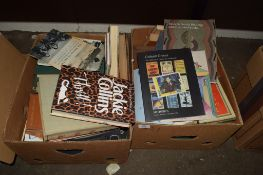 BOX OF BOOKS AND AUCTION CATALOGUES INCLUDING SOTHEBYS