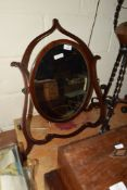 DRESSING TABLE MIRROR IN ART NOUVEAU STYLE FRAME