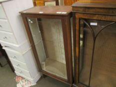 RETRO GLAZED DISPLAY CABINET, 58CM WIDE