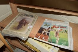 """QUANTITY OF LATE 19TH CENTURY MAGAZINES """"THE PLAY"""" AND """"BOYS OWN PAPER"""" FROM 1948 AND 1949"""