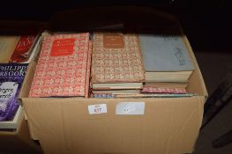 BOX OF HARDBACK BOOKS INCLUDING GARDENING INTEREST