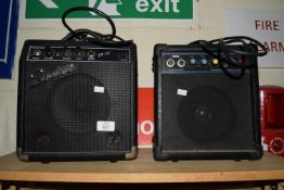PAIR OF SQUIER AMPLIFIERS