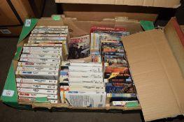 BOX CONTAINING BOOKS, MAINLY PAPERBACKS