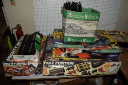 SUBSTANTIAL QUANTITY OF SCALEXTRIC CARS AND TRACK