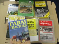 MIXED BOOKS ON TRACTORS AND AGRICULTURE
