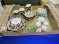 CERAMIC ITEMS INCLUDING RAMEKINS AND SMALL COFFEE CUPS BY MINTON