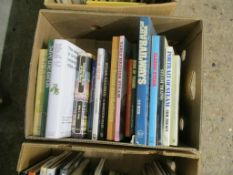 BOX OF BOOKS MAINLY RAILWAY INTEREST