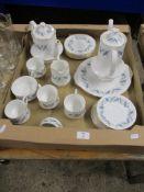 ROYAL STANDARD BONE CHINA TEA SET IN THE TREND PATTERN