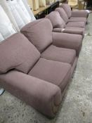 MODERN THREE-SEATER AND TWO-SEATER SOFA