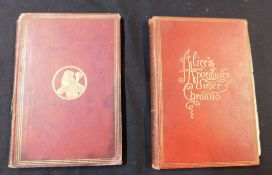 "REV CHARLES LUTWIDGE DODGSON ""LEWIS CARROLL"": 2 titles: THE HUNTING OF THE SNARK, Ill Henry Holiday,"
