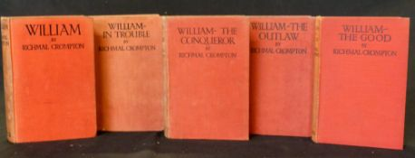 RICHMAL CROMPTON: 5 titles: WILLIAM THE CONQUEROR, London, George Newnes, [1926], 1st edition, 3pp