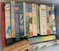 Box: Children's fiction including BIGGLES