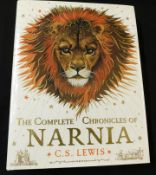 CLIVE STAPLES LEWIS: THE COMPLETE CHRONICLES OF NARNIA, ill Pauline Baynes, London, Harper