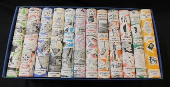 ARTHUR RANSOME: THE CLASSIC BOATING NOVELS, London, Jonathan Cape, 2004, set of 12, original
