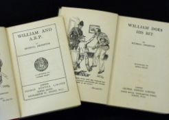 RICHMAL CROMPTON: 2 titles: WILLIAM AND ARP, London, George Newnes, 1939, 1st cheap edition,