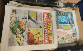 Box: TIGER, TIGER and HURRICANE comic, 1963, 1965-67 including the full year for 1966
