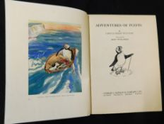 URSULA MORAY WILLIAMS: ADVENTURES OF PUFFIN, ill Mary Shillabeer, London, George G Harrap, 1939, 1st