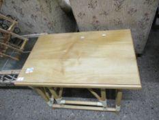 LIGHT MODERN COFFEE TABLE, 76CM LONG