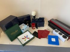 Qty of good quality items and gifts to include Linley, Eximious, long matches, soaps, Dubarry