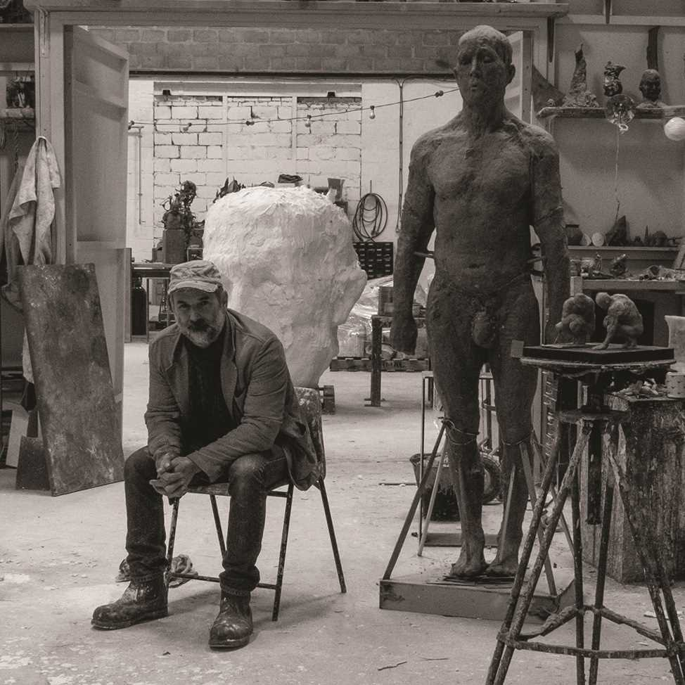 Laurence Edwards Loaded Bronze Sculpture Laurence Edwards is one of the finest figurative - Image 2 of 2