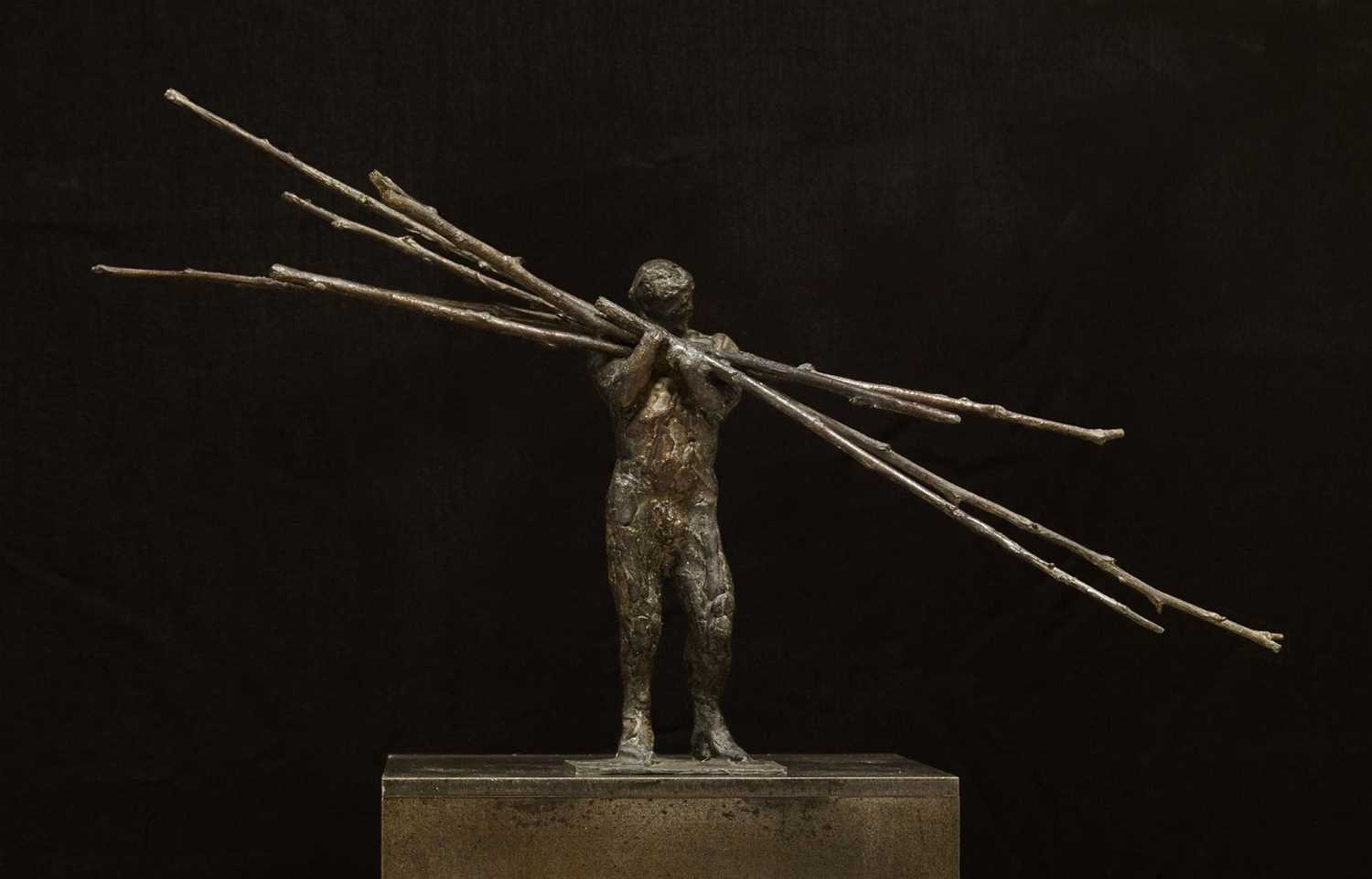 Laurence Edwards Loaded Bronze Sculpture Laurence Edwards is one of the finest figurative