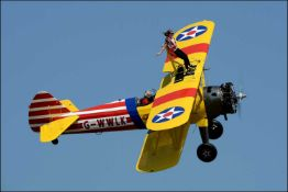 Wing Walk Experience – Kent Have you ever wanted to stand on the wing of a biplane? Experience