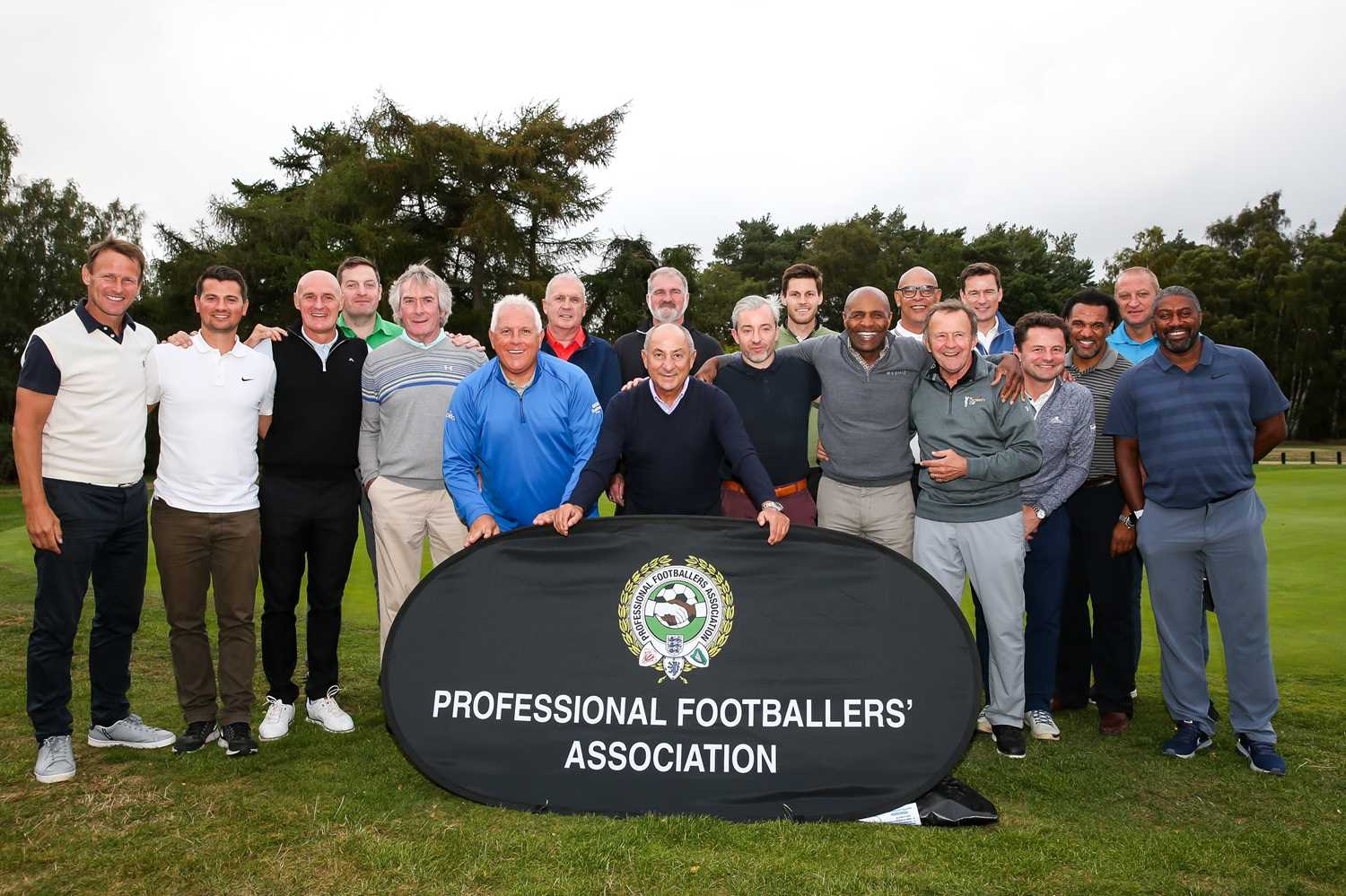The Professional Footballers Association (PFA) Invites You and 2 guests to their Annual Golf