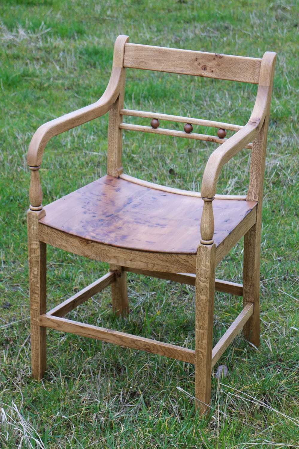 Otis Luxton Hand Crafted Suffolk Ball-Back Chair The ball-back chair is unique within traditional