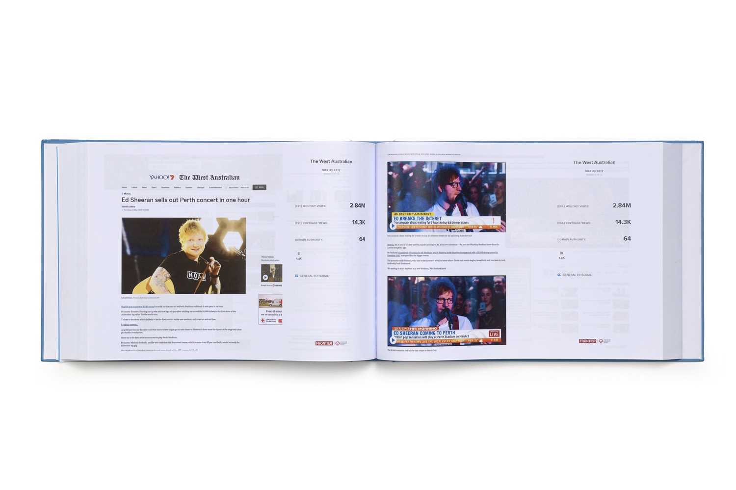 Australia & New Zealand Divide Tour 2018 Two Volume Press Book Set Specially Compiled for and signed - Image 3 of 4