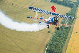 Wing Walks Experience - Gloucestershire Flown by a top-class professional wing walking display
