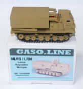A Gasoline Ref. No. GAS50896 1/50 sale resin and white metal model of an LRMS/LRM Lanc Roquetts