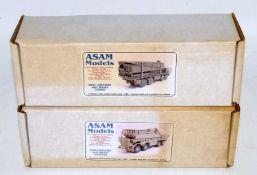 An Asam Models of Farnborough, England 1/48 scale white metal group to include an SM93 Unipower Able
