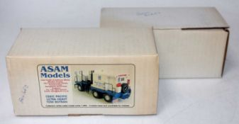 An Asam Models 1/48 scale No. C261C Pacific Ultra Heavy Tow Rotran white metal kit housed in two