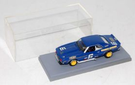 A very well made factory built model of a Chevrolet Camaro Z28 Sunoco Roger Penske race car finished