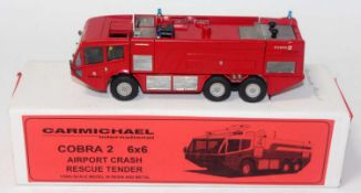 An RSH Model 1/50 scale resin and white metal factory kit built model of a Carmichael