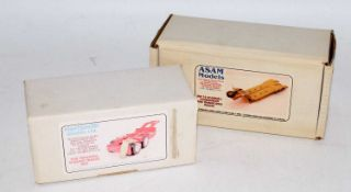 An Asam & Hart Smith Models 1/48 scale white metal and resin kit group to include an SM113 faun