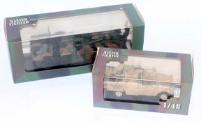 A Master Fighter Models by Gasoline 1/48 scale resin hand built military vehicle group to include