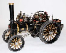 A very well engineered 2 inch scale live steam Fowler A7 Road Locomotive Traction Engine, based on