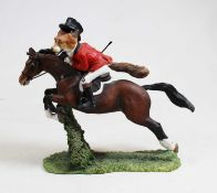 A Border Fine Arts figure group 'Tally Ho Sir Rupert', A2979, boxed with certificateCondition