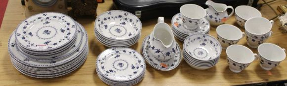 A Royal Doulton part tea and dinner service, in the York Town pattern, TC1013Condition report: