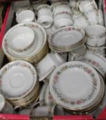An extensive Paragon tea and dinner service in the Belinda pattern (12 place setting)Condition