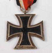 A German Third Reich Iron Cross 2nd class.