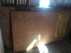 10 x Plywood Sheets (8ft x 4ft)