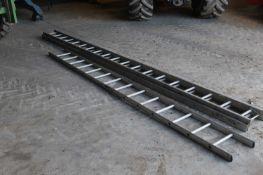 12ft Aluminium Ladder