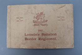 The Lonsdale Battalion Border Regiment, Carlisle, Thurnam, 1915