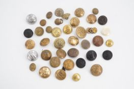 A small quantity of military buttons
