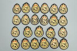 A quantity of Civil Defense uniform badges