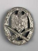 A German Third Reich General Assault war badge