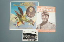 """Edward """"Eddie"""" Rickenbacker (1890 - 1973, Great War American fighter ace and Medal of Honor"""