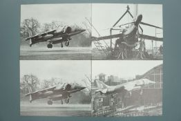 A quantity of official Hawker Siddely Aviation Limited official, promotional and restricted